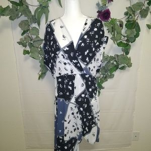 NY&Co Soho Asymmetrical Dress, Floral NWT